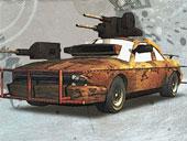لعبة حرب سيارات الصحراء Desert Fighter اون لاين